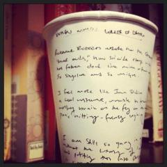 Coffee Cup Poem no.93